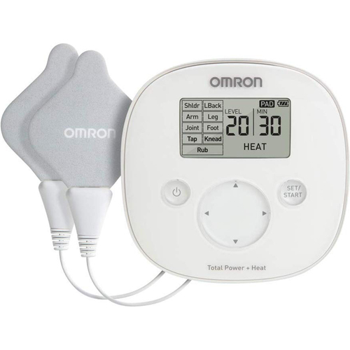 Omron Total Power and Heat TENS Unit for Chronic, Acute, Arthritic Pain Relief (PM800)