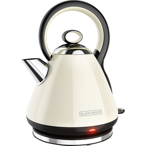 Spectrum Brands BD Electric Kettle SS Cream