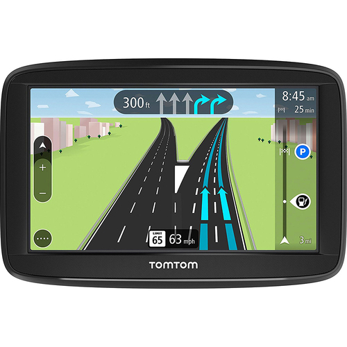 TomTom VIA 1625TM 6` Portable Touchscreen GPS Navigation - Lifetime Maps - OPEN BOX
