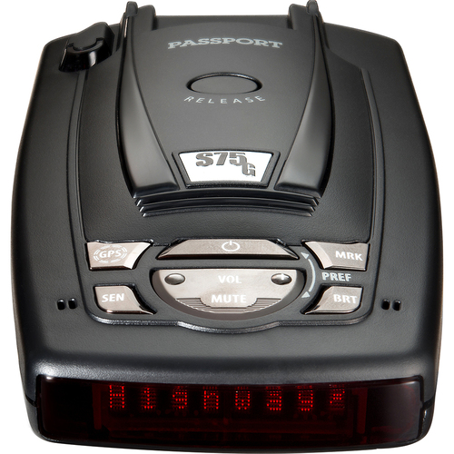 Escort Passport S75g Radar Detector With GPS with Auto Lockout - Open Box