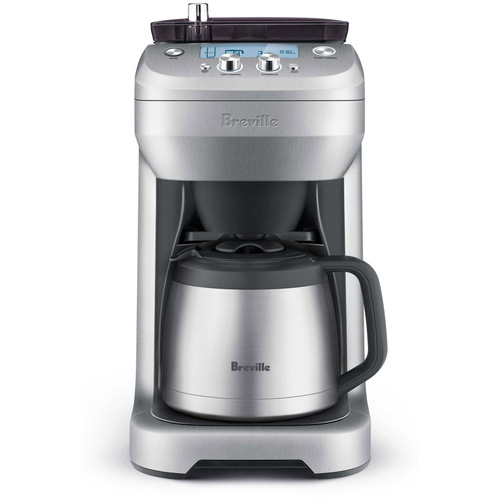 Breville The Grind Control Coffee Maker, Brushed Stainless Steel BDC650BSS