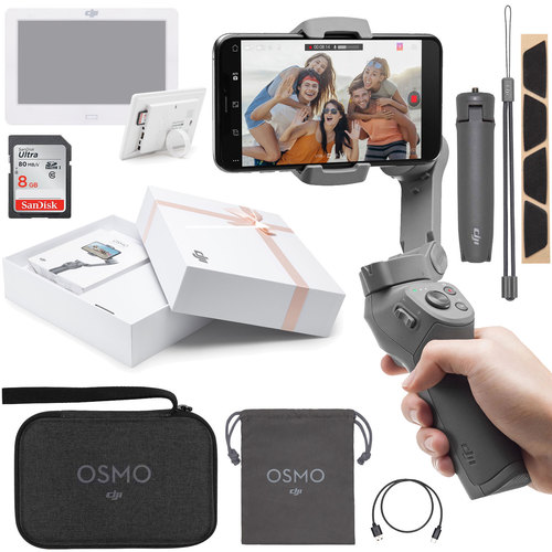 DJI Osmo Mobile 3 Gimbal Stabilizer Combo Mothers Day Edition Bundle