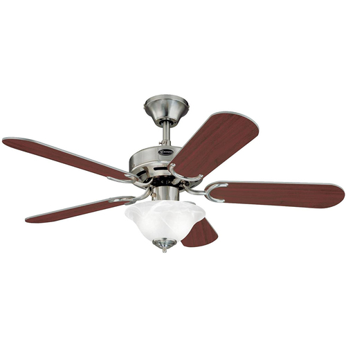 Westinghouse Richboro SE 42` Reversible Five-Blade Indoor Ceiling Fan w 2 Light Bowl 7877365
