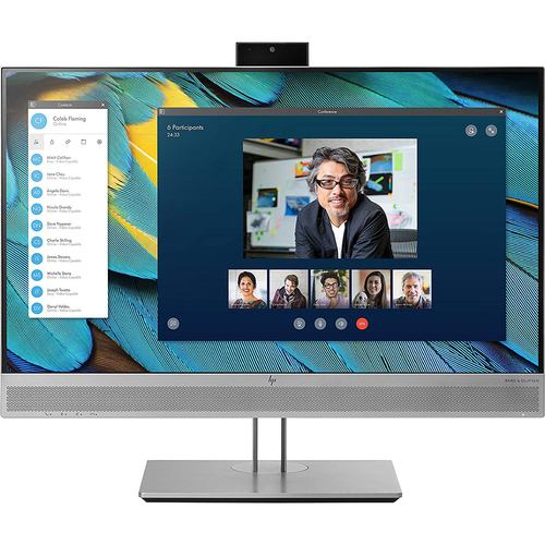 Hewlett Packard 24` EliteDisplay E243m Monitor with Pop-up Integrated HD Webcam (Open Box)