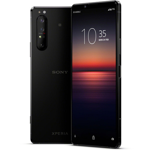 Sony Xperia 1 II - 6.5` 4K HDR OLED Triple Camera Array Smartphone with ZEISS Optics