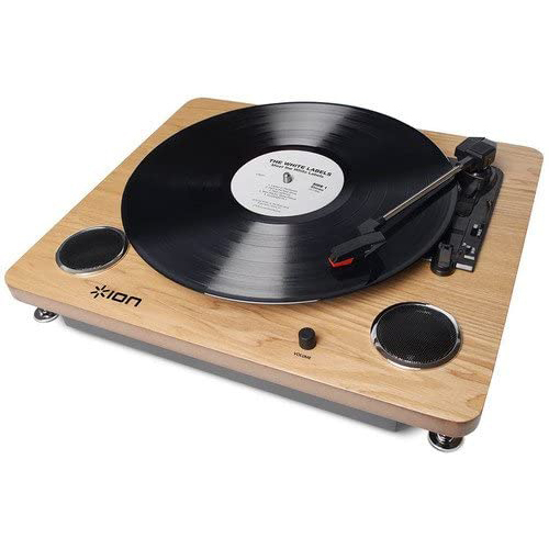 Archive LP Digital Conversion Turntable with Built-in Stereo Speakers IT53L
