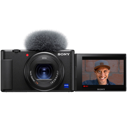 Sony ZV-1 Compact Digital Vlogging 4K Camera for Content Creators & Vloggers DCZV1/B