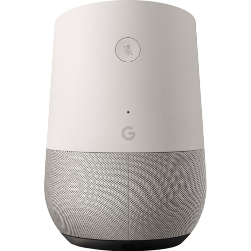 Google Home Smart Speaker with Google Assistant, White/Slate (GA3A00417A14) - Open Box