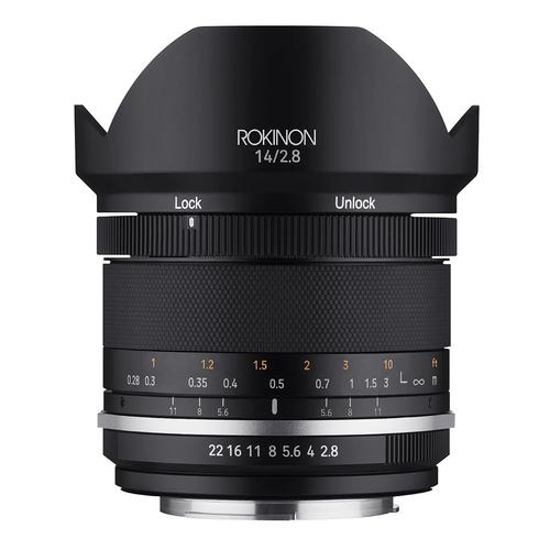 Rokinon Series II 14mm F2.8 Weather Sealed Lens for Micro Four-Thirds (SE14-MFT)