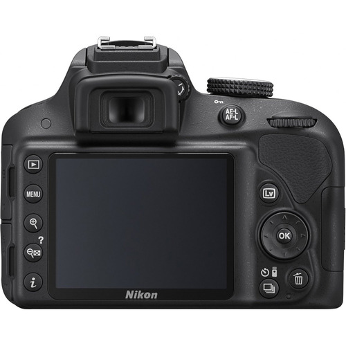 Nikon D3300 24.2MP 1080p Digital SLR Camera w/ 18-55mm VR II Lens (Black) Refurbished