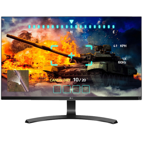 LG 4K UHD 27UD68-P 27` Screen LED-lit Monitor - (Renewed) +1 Year Extended Warranty