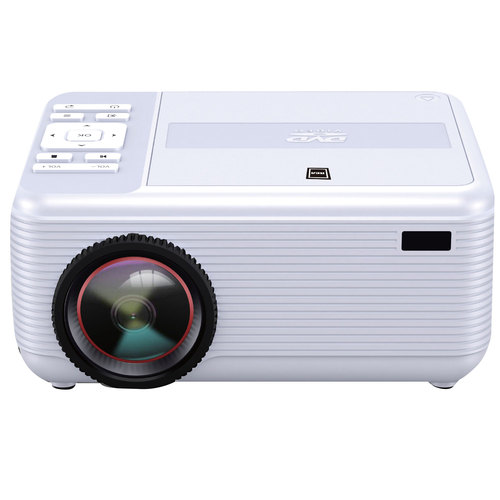 RCA RPJ140 Bluetooth 1080p Full HD Projector with DVD Player