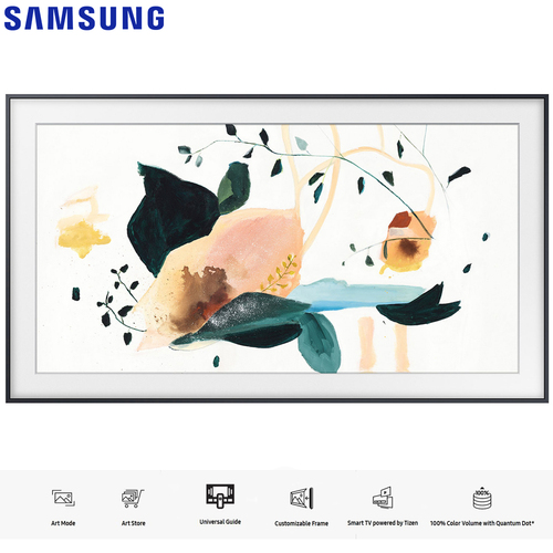 Samsung QN75LS03TA The Frame 3.0 75` QLED Smart 4K UHD TV (2020 Model) - (Renewed)
