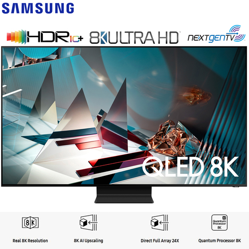 Samsung QN75Q800TA 75` Q800T QLED 8K UHD HDR Smart TV (2020 Model) - (Renewed)