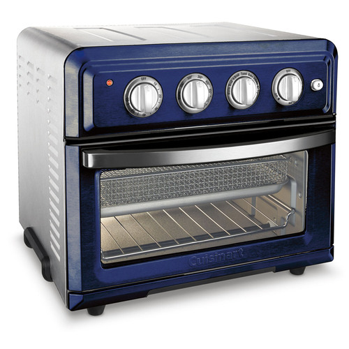 Cuisinart TOA-60NV Convection Toaster Oven Air Fryer with Light, Navy
