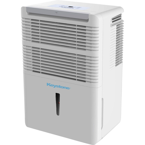 Keystone KSTAD50B Energy Star Dehumidifier, 50-Pint - Open Box