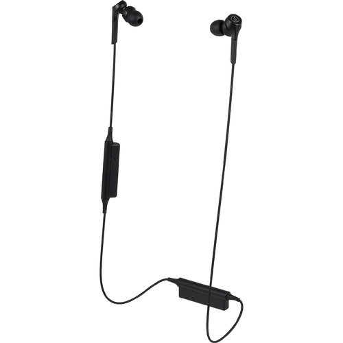 Audio Technica ATH-CKS550XBT Solid Bass Dynamic Bluetooth Wireless In-Ear Headphones with Mic