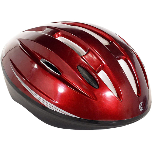 Black Cherry Unisex Adult Biking Helmet 64751