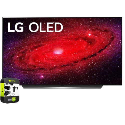 LG 48` CX 4K Smart OLED TV with AI ThinQ 2020 + Extended Warranty