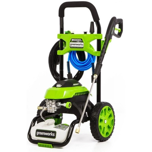 Greenworks GPW2006 2000 PSI 1.2 GPM Cold Water Electric Pressure Washer - Renewed