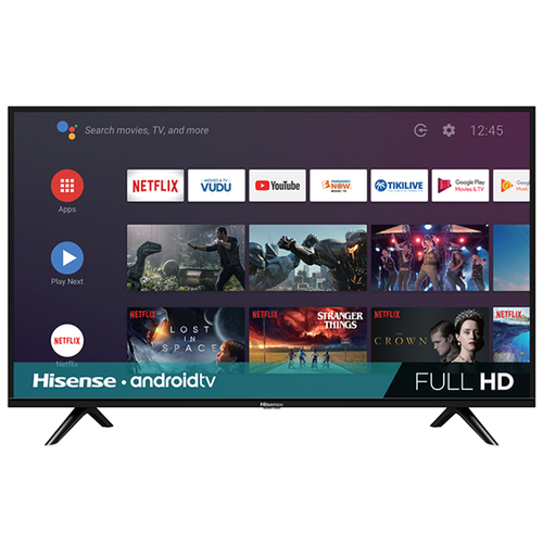 Hisense 32 Inch H55 Series HD Smart Android TV w/ DTS Studio Surround Sound 32H5500F