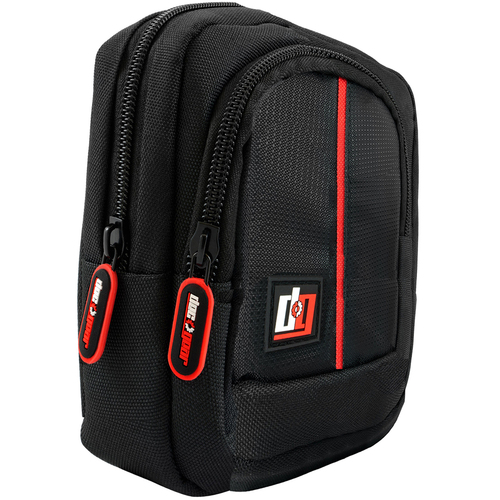 Point and Shoot Field Bag Camera Case (Black/Red) - PNS100BK