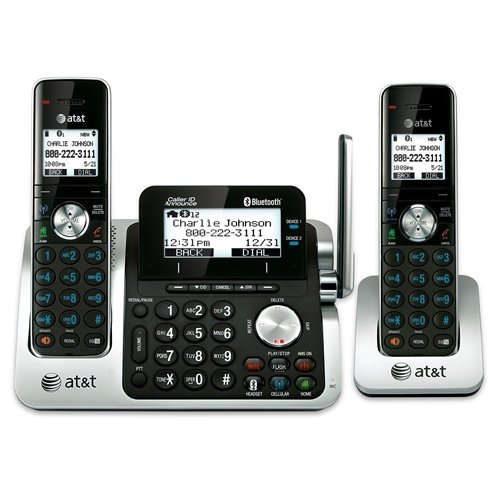 AT&T Dect 6.0 2-Handset Link to Cell Landline Telephone System