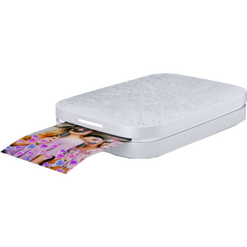 Hewlett Packard Sprocket Portable Photo Printer  Instant Print (2nd Edition) Luna Pearl - 1AS89A