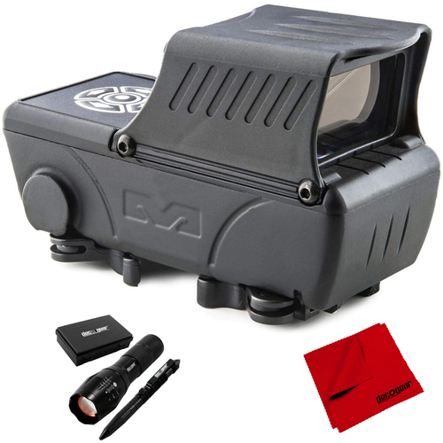 Meprolight Mepro Foresight Augmented Red Dot Sight with Accessories Bundle