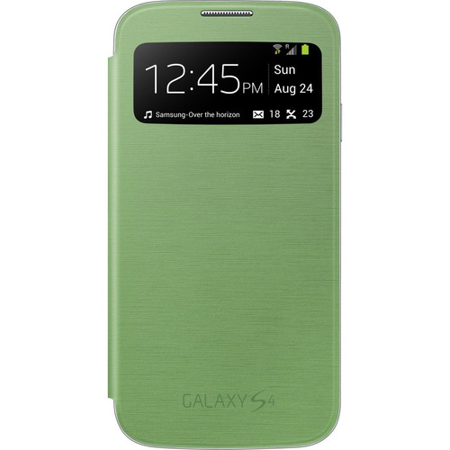 Samsung Galaxy S IV S-view Flip Cover Green