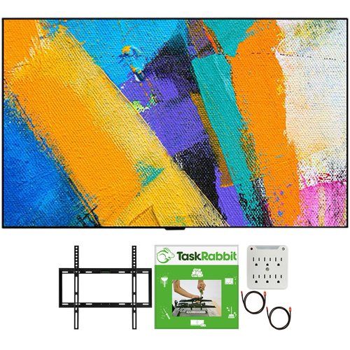LG 65` GX 4K Smart OLED TV 2020 Model + TaskRabbit Installation Bundle