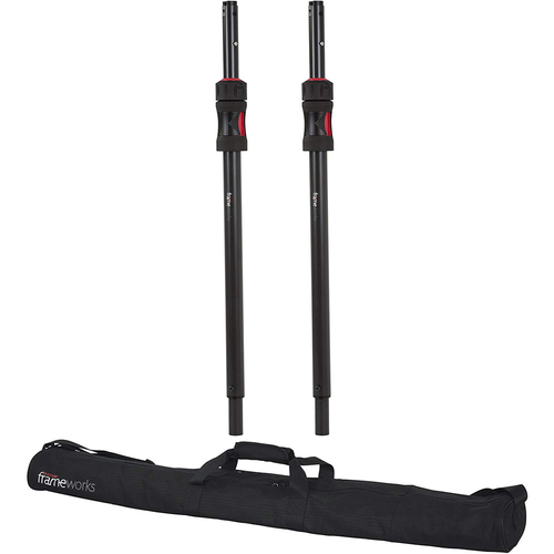 Gator Frameworks ID Speaker Sub Pole 2-Pack with Carry Bag - Open Box