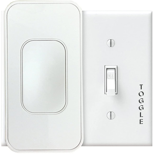 SimplySmartHome by Switchmate Voice-Activated Wire-Free Smart Toggle, No Hub Required REFURBISHED - Open Box