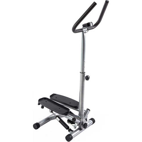 Sunny Health and Fitness Twister Stepper Machine with Handlebar Adjustable Height , LCD monitor(open Box)