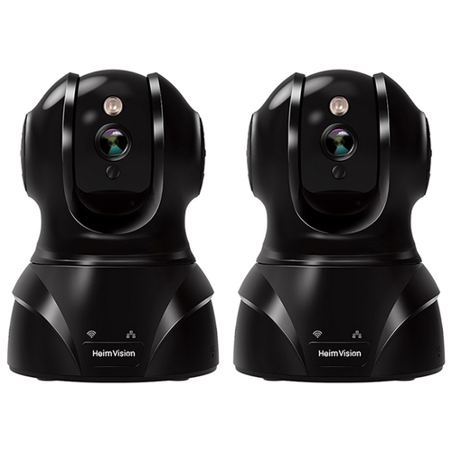 HeimVision 3 MP HD Wireless Camera with Night Vision 2 Pack
