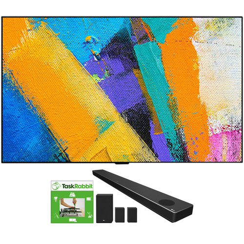LG 77` GX 4K Smart OLED TV w/ AI ThinQ (2020 Model) + LG SN11RG Soundbar Bundle