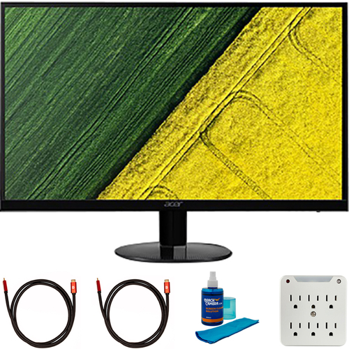 Acer Bbix 27` Full HD Ultraslim IPS Monitor with Freesync + Cleaning Bundle