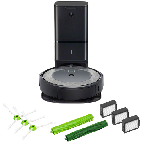 iRobot Roomba i3+ WiFi Robot Vacuum w/Auto Dirt Disposal + Accessory Kit