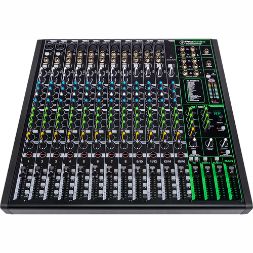 Mackie ProFX16v3 16 Channel 4-Bus Professional Effects Mixer with USB - Open Box