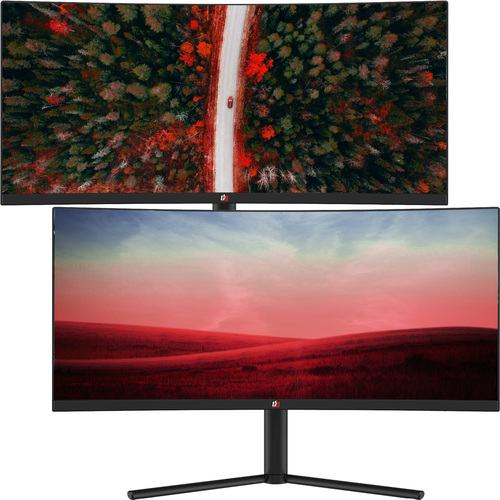 Deco Gear 29-Inch 2560x1080 100Hz VA Curved Monitor, Color Accurate, 4ms Response, 2-Pack