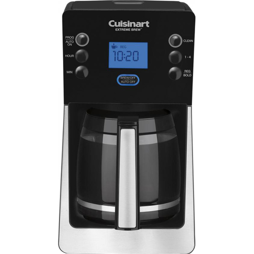 Cuisinart DCC-2850 Perfect Brew 12-Cup Coffee Maker, Black - Factory Refurbished