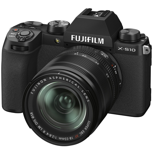Fujifilm X-S10 Mirrorless Digital Camera Body with XF 18-55mm F2.8-4 R Lens Kit 16674308