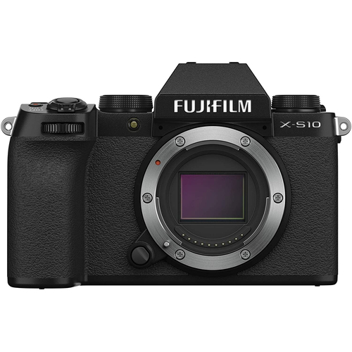 Fujifilm X-S10 Mirrorless Digital Camera Body Only with 4K Video and IBIS 16670041
