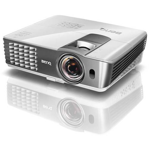 BenQ HT1085ST 1080P 2,200 ANSI Lumen 3D Full HD Short Throw Home Theater Projector