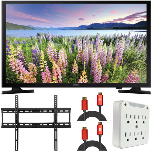 Samsung 40` LED SMART FHDTV 1080P UN40N5200  (Renewed)  + Wall Mount Kit
