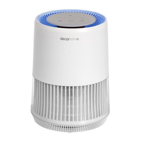 Compact Air Purifier with HEPA 13 and Infrared Technology, for Home or Office