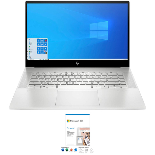 Hewlett Packard Envy 15.6` Intel i7-10750H 16/512GB SSD Touch Laptop+Office 365