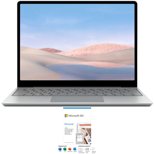Microsoft Surface Laptop Go 12.4` Intel i5 8GB/128GB Touchscreen w/ Microsoft 365 Personal