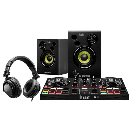 All-In-One DJ Learning Kit w/ DJUCED Software, Speakers + Headphones