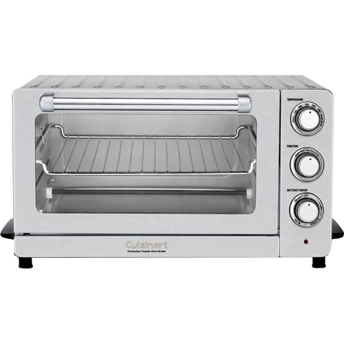 Cuisinart TOB-60NFR Toaster Oven Broiler with Convection - Renewed